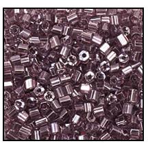2 Cut Beads 2x 2200 11 0 26010 Light Amethyst Transparent Luster