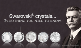 The image reads Swarovski crystals... Everything you need to know