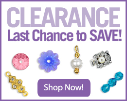 Swarovski and Czech Seed Beads at Clearance