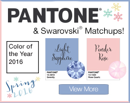 Pantone 2016 Colors Wholesale Swarovski Crystals