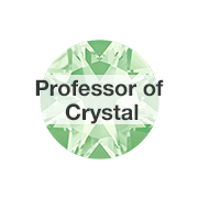 Learn about the Swarovski Professor of Crystal.