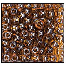 Seed Bead 2100 11 0 16110 Smoke Topaz Transparent Luster