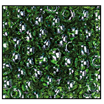 Seed Bead 2100 12 0 56430 Green Transparent Luster