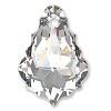 Swarovski 6090 Baroque Pendant 16x11mm Crystal (12 Pieces)