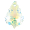 Swarovski 6090 Baroque Pendant 16x11mm Crystal AB (12 Pieces)