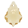 Swarovski 6090 Baroque Pendant 16x11mm Light Colorado Topaz (12 Pieces)