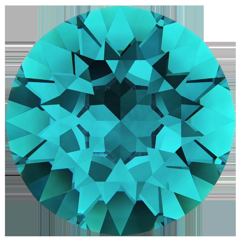 swarovski chatons 1028 blue zircon pp13 harman