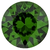 Swarovski 1088 Xirius Pointed Back Chaton PP32 Dark Moss Green (1,440 Pieces)