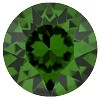 SWAROVSKI #1088 Xirius Pointed Back Chaton  PP32 Dark Moss Green (1,440 Pieces)