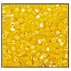 2 Cut Bead (2x) #2200 11/0 88130 Dark Yellow Opaque Luster (1/2 Kilo)