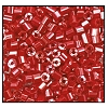 2 Cut Bead (2x) #2200 11/0 98210 Dark Red Opaque Luster (1/2 Kilo)