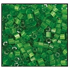 2 Cut Bead (2x) #2200 11/0 55041 Green Satin (1/2 Kilo)