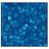2 Cut Bead (2x) #2200 11/0 65021 Aqua Satin (1/2 Kilo)