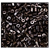 2 Cut Bead (2x) #2200 11/0 16140 Dark Smoke Topaz Transparent Luster (1/2 Kilo) - CLEARANCE