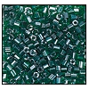 2 Cut Bead (2x) #2200 11/0 56060 Emerald Transparent Luster (1/2 Kilo)