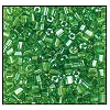 2 Cut Bead (2x) #2200 11/0 56100 Light Green Transparent Luster (1/2 Kilo) - CLEARANCE