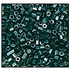 2 Cut Bead (2x) #2200 11/0 56620 Dark Green Transparent Luster (1/2 Kilo) - CLEARANCE