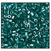 2 Cut Bead (2x) #2200 11/0 56710 Blue Zircon Transparent Luster (1/2 Kilo)