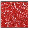 2 Cut Bead (2x) #2200 11/0 96070 Red Transparent Luster (1/2 Kilo)
