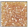 2 Cut Bead (2x) #2200 11/0 16020 Light Topaz Transparent Luster (1/2 Kilo) - CLEARANCE