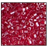 2 Cut Bead (2x) #2200 10/0 96080 Dark Red Transparent Luster (1/2 Kilo) (LOOSE) - CLEARANCE