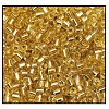 2 Cut Bead (2x) #2200 9/0 17020 Straw Gold Transparent Silver Lined (1/2 Kilo) - CLEARANCE