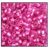 2 Cut Bead (2x) #2200 11/0 18277 Hot Pink Transparent Silver Lined (1/2 Kilo) - CLEARANCE