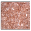 2 Cut Bead (2x) #2200 9/0 07012 Rose Transparent (1/2 Kilo)