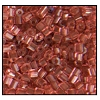 2 Cut Bead (2x) #2200 11/0 07022 Deep Rose Transparent (1/2 Kilo) - CLEARANCE