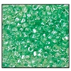 3 Cut Bead (3x) #2300 9/0 38656 Crystal/Peridot Lined (1 Bunch)