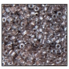 3 Cut Bead (3x) #2300 12/0 38619 Crystal/Brown Lined (1 Bunch) - CLEARANCE