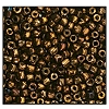 3 Cut Bead (3x) #2300 9/0 59145 Copper Metallic (1 Bunch)