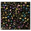 3 Cut Bead (3x) #2300 9/0 59195 Purple Iris Metallic (1 Bunch)