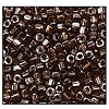 3 Cut Bead (3x) #2300 12/0 16120 Smoke Topaz Transparent Luster (1 Bunch)