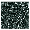 3 Cut Bead (3x) #2300 9/0 47010 Smoke Grey Transparent Silver Lined (1 Bunch)