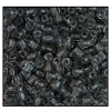 3 Cut Bead (3X) #2300 9/0 40010 Smoke Grey Transparent (1 Bunch)