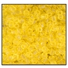 3 Cut Bead (3X) #2300 9/0 80010 Yellow Transparent (1 Bunch)