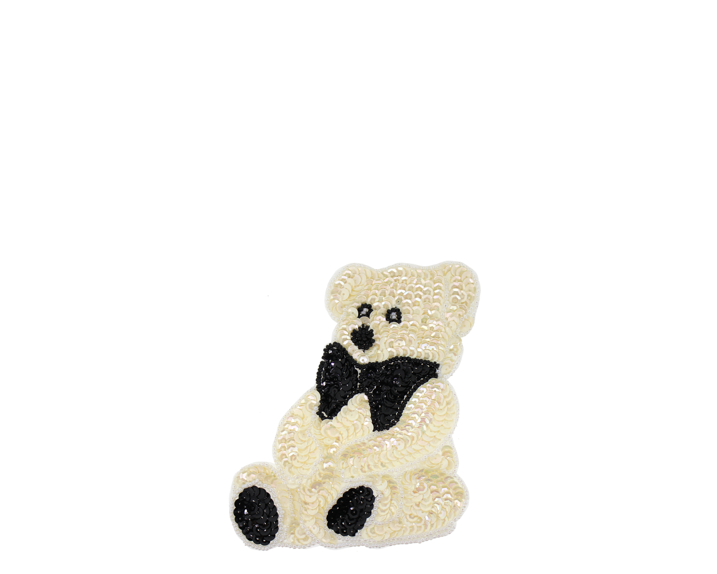 Teddy bear printable papercraft applique pattern diy all ages