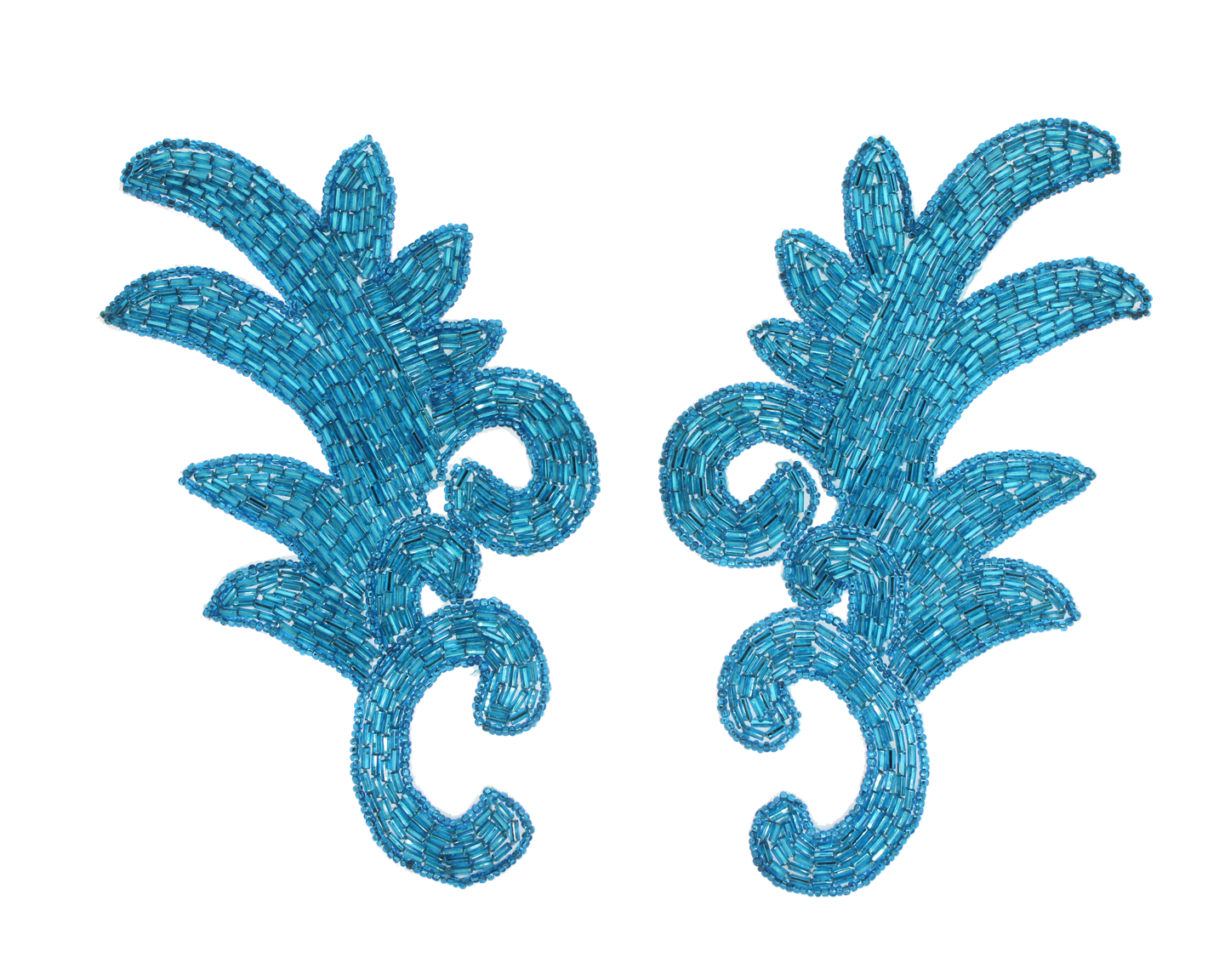 Bugle bead applique Pack of 2