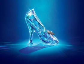 swarovski glass slipper cinderella movie