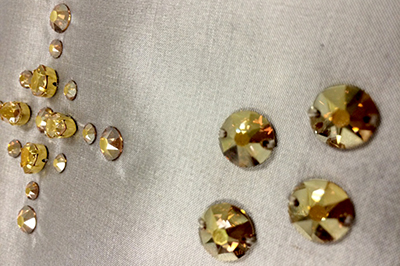 Swarovski Crystal Metallic Sunshine Samples 1
