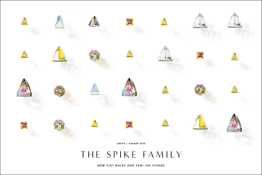 The Swarovski crystal Spike Family
