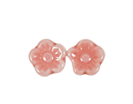 Flower Beads with Back Hole