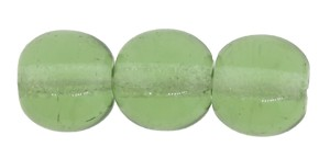 Druk Smooth Round Beads #4150 6mm Green Turmaline (1,200 Pieces) - CLEARANCE