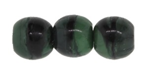 Druk Smooth Round Beads #4158 4mm Grey/Green (1,200 Pieces) (LOOSE) - CLEARANCE