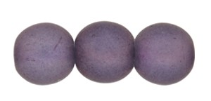 Druk Smooth Round Beads #4151 4mm Lilac Matt (1,200 Pieces) - CLEARANCE