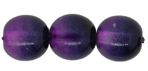 Druk Smooth Round Beads #4158 6mm Purple/Violet (1,200 Pieces) - CLEARANCE
