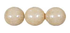Decora Druk Smooth Round Beads #4151 6MM Camel (1,200 Pieces)