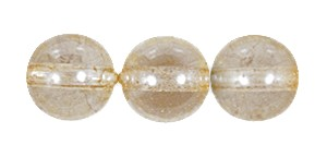 Decora Druk Smooth Round Beads #4151 6MM Honey (1,200 Pieces)