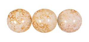 Decora Druk Smooth Round Beads #4151 6MM Pink Blush (1,200 Pieces)
